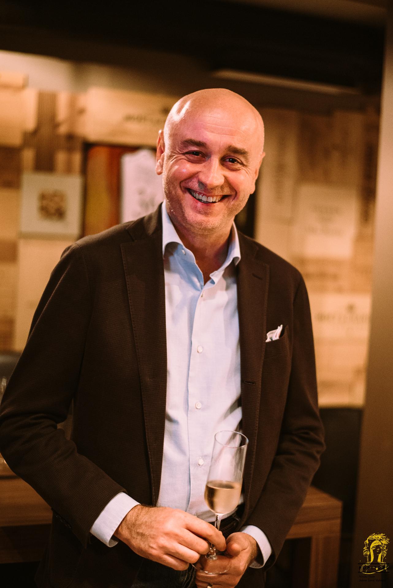 Željko Bročilović Carlos sommelier