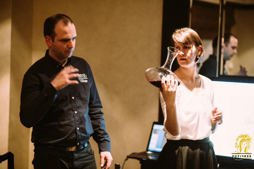 posluživanje vina